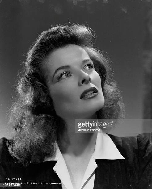 Promotional studio portrait of actress Katharine Hepburn for MGM Studios circa 19351940