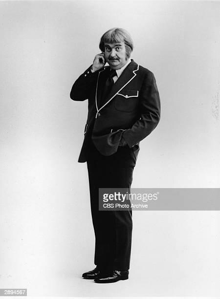 Promotional studio portrait of American children's TV host Robert Keeshan as 'Captain Kangaroo' September 1975