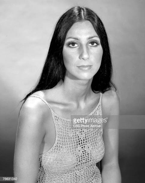Promtional portrait of American singer and actress Cher for the television variety show 'The Sonny and Cher Comedy Hour' June 7 1970