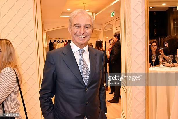 Pronovias CEO Alberto Palatchi attends the Pronovias Paris Flagship Launch Cocktail at Pronovias Place des Victoires on November 17 2016 in Paris...