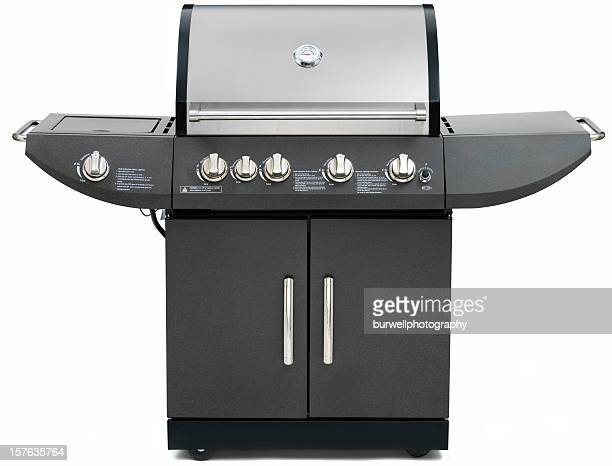 Propane Barbeque Grill on white