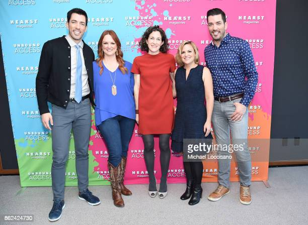 Property Brothers Jonathan Scott Drew Scott Ree Drummond Editor in Chief of Food Network Magazine Maile Carpenter and Editor in Chief HGTV Magazine...