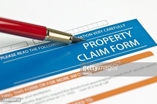 Property Claim Form