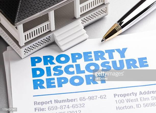 Property Disclosure Report