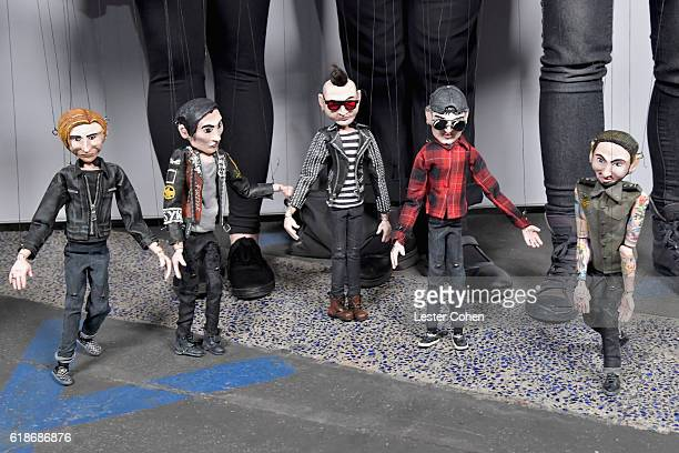 Props from Avenged Sevenfold 'The Stage' music video during Avenged Sevenfold Groundbreaking Global VR Event Live at Iconic Capitol Records Building...