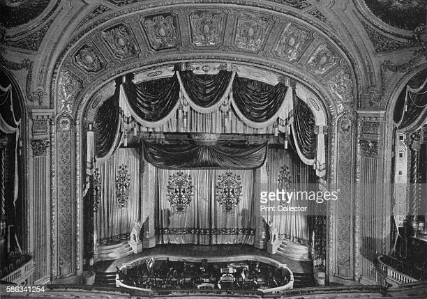 Proscenium arch the Tivoli Theatre Chicago Illinois 1925 Chicago's Tivoli Theatre was a cinema opened in 1921 It closed in 1963 and was demolished...