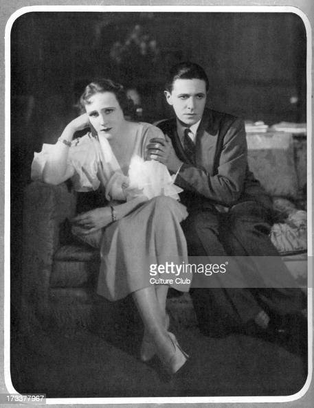 Proscenium play by Ivor Novello With Ivor Novello as Gray and Fay Compton as Norma Production performed at Globe Theatre Shaftesbury Avenue London 14...