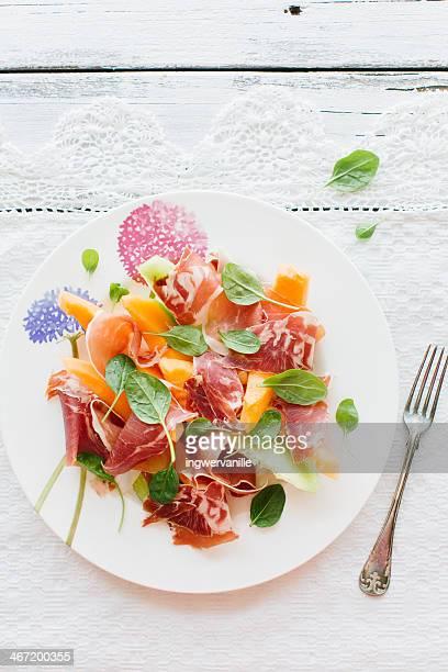 Prosciutto & Melon Salad