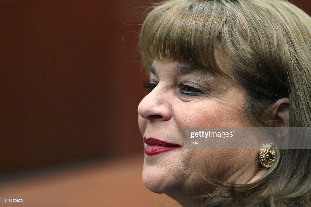 Prosecutor Angela Corey sits in the courtroom during George Zimmerman's bond hearing on April 20, 2012 in Sanford, Florida. Trayvon Martin was shot by George Zimmerman, a member of a neighborhood watch in Sanford, Florida, who has been charged with second degree murder in the shooting. Bail was set at $150,000 and Zimmerman and could be released from jail as he awaits trial as early as April 21.