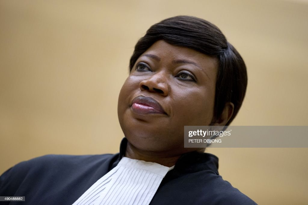 Prosecutor <a gi-track='captionPersonalityLinkClicked' href=/galleries/search?phrase=Fatou+Bensouda&family=editorial&specificpeople=802492 ng-click='$event.stopPropagation()'>Fatou Bensouda</a> waits for former vice-president in the transitional government of the Democratic Republic of the Congo to enter the court room of the International Criminal Court (ICC) to stand trial on charges including corruptly influencing witnesses by giving them money and instructions to provide false testimony, and presenting false evidence, at The Hague, the Netherlands, on September 29, 2015. Former vice-president in the transitional government of the Democratic Republic of the Congo Jean-Pierre Bemba Gombo stands trial with Aime Kilolo Musamba, Jean-Jacques Mangenda Kabongo, Fidele Babala Wandu and Narcisse Arido.