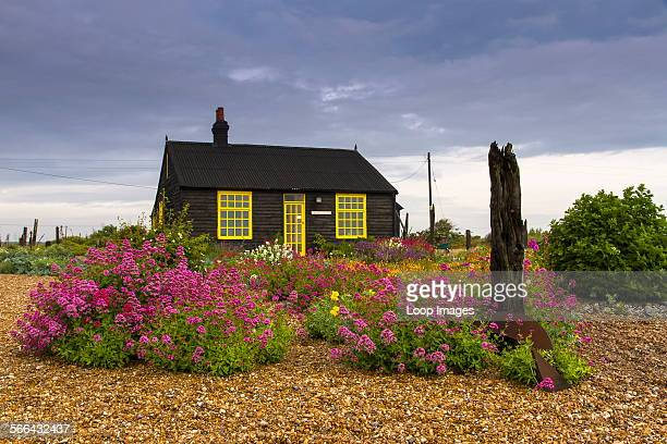 Prospect Cottage at Dungeness once owned by Derek Jarmanwho was an English film director