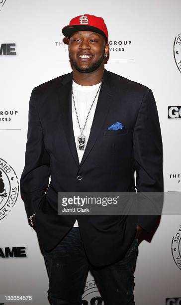 NFL Prospect OT Anthony Davis attends the 2nd annual 320 Sports PreDraft Edition party at Taj Lounge on April 20 2010 in New York City