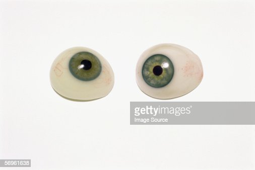 Prosthetic eyes : Stock Photo