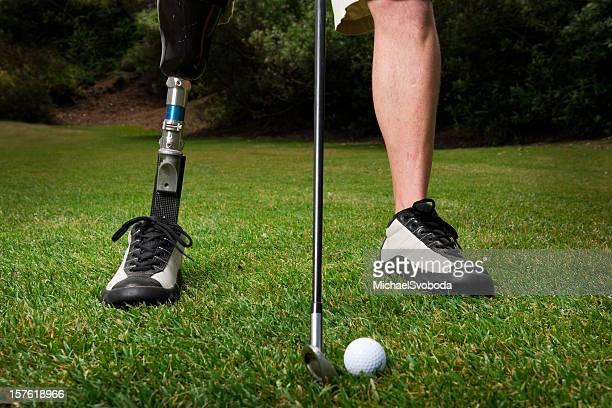 Artificielles. golfeur