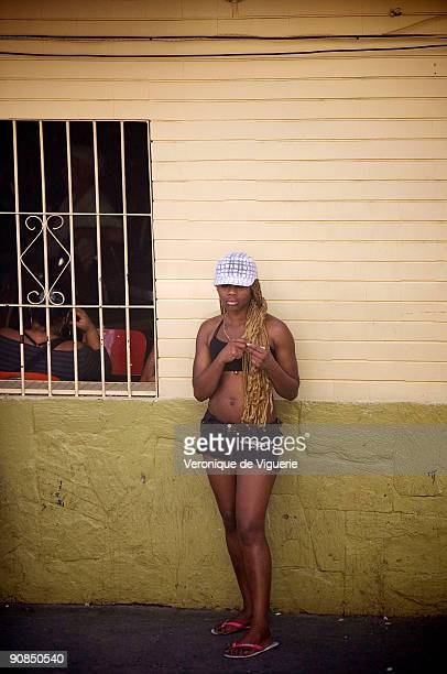 Prostitution in the neighborhood of El Centro de Medellin Colombia