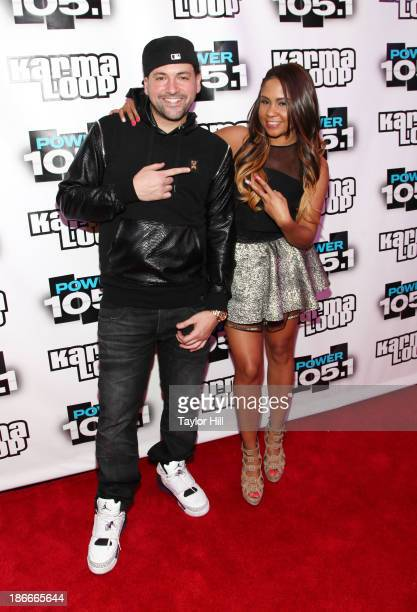 Prostyle and Angela Yee attend Power 1051's Powerhouse 2013 presented by Play GIGIT at Barclays Center on November 2 2013 in New York City