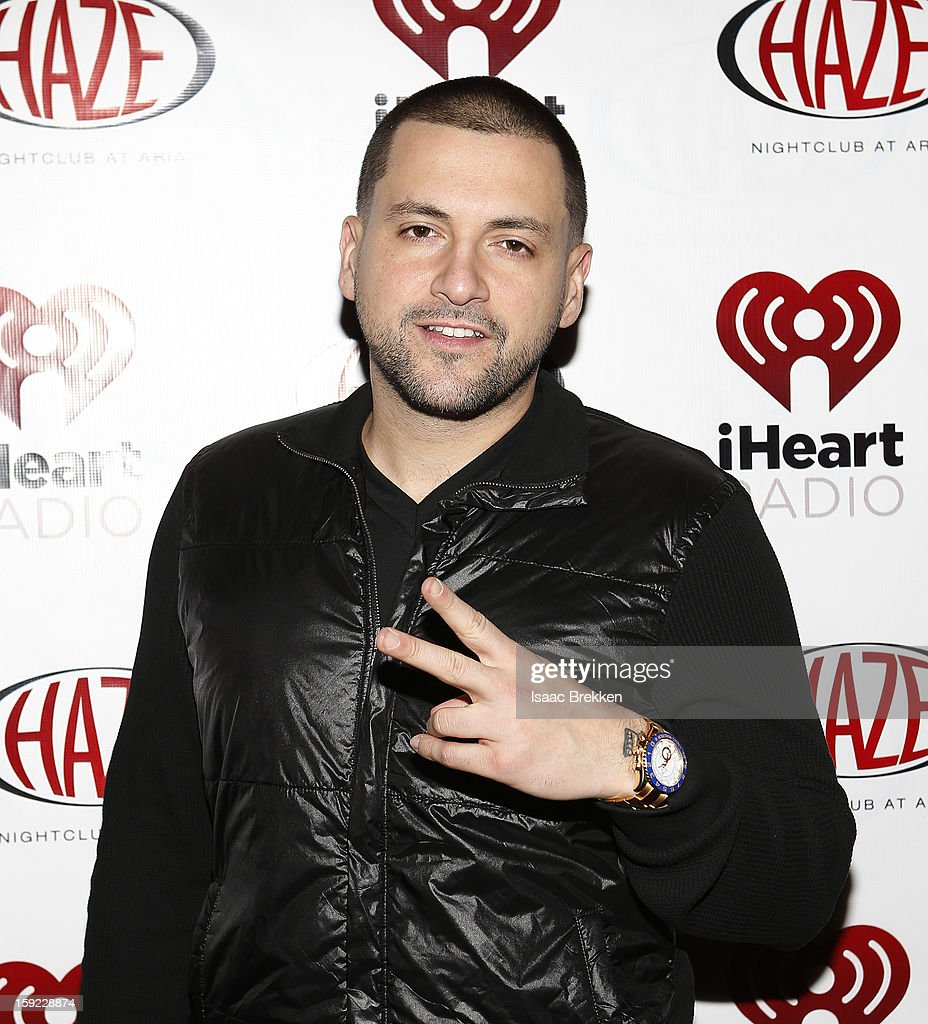 DJ Prostyles arrives at the iHeartRadio CES exclusive party featuring a live performance by Ke$ha at Haze Nightclub at the Aria Resort & Casino at CityCenter on January 9, 2013 in Las Vegas, Nevada.