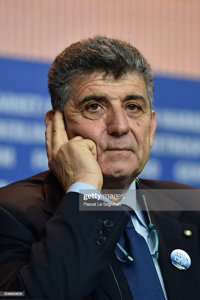 Protagonist Pietro Bartolo attends the 'Fire at Sea' (Fuocoammare) press conference during the 66th Berlinale International Film Festival Berlin at Grand Hyatt Hotel on February 13, 2016 in Berlin, Germany.