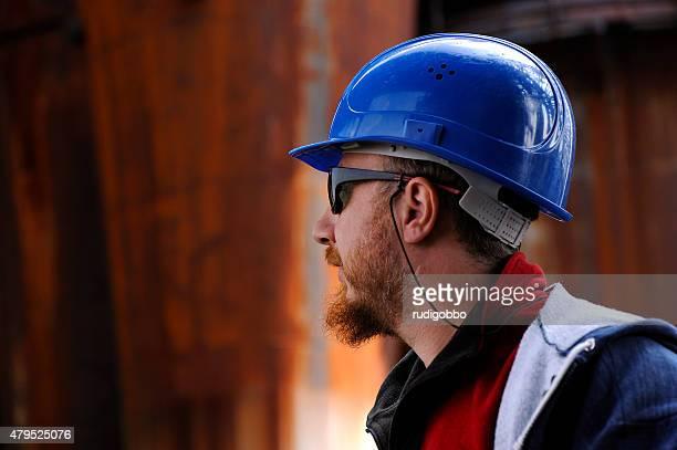 Geschützte Arbeiter