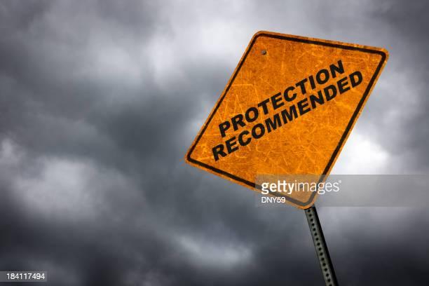 Schutz empfohlen