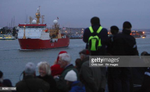 HMS Protector Leaves Portsmouth Harbour this evening bound for the South Atlantic where she will replace HMS Endurance which suffered extensive...