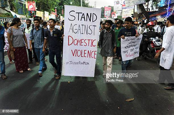 A protest by the students of Jadavpur University against domestic violence on women has taken place in front of the main campus of Jadavpur...