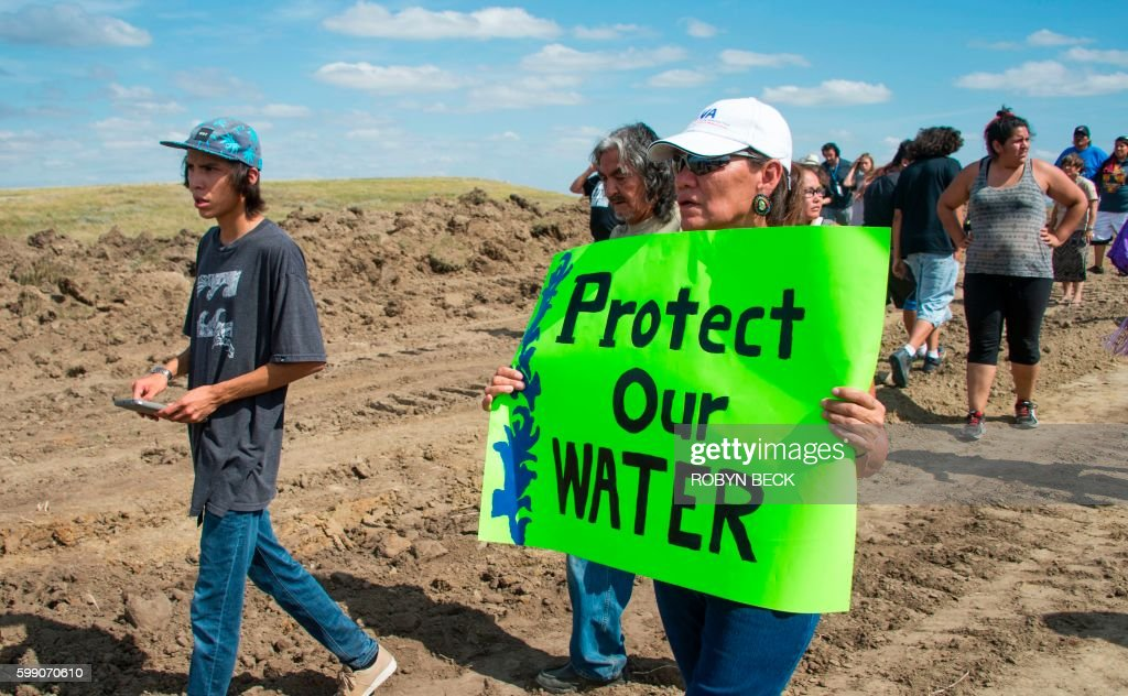 Image result for PROTECT WATER PROTEST