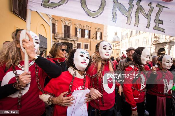 A protest in front of piazza Montecitorio against the 'Bolkestein' the owners of the bathing establishments of the whole Italy