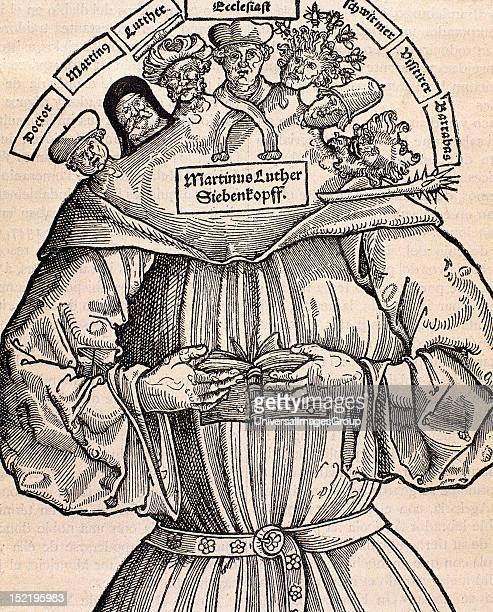 Protestant Reformation 16th century Germany Satire against Martin Luther