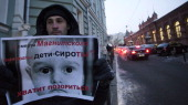 Are orphans guilty of Magnitsky's death Stop putting shame on yourselves just outside the lower house of Russias parliament the State Duma early on...