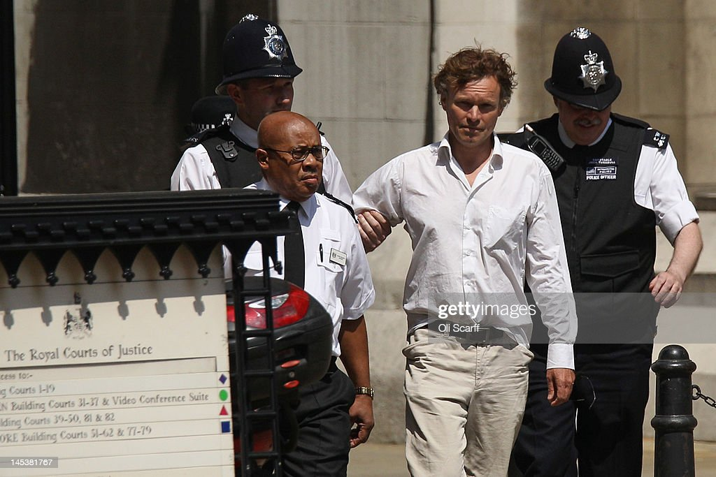 A protester named as David LawleyWakelin who disrupted former Prime Minister Tony Blair's testimony at the Leveson Inquiry by bursting into the...