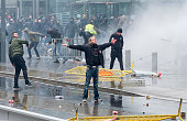 BEL: Protesters For And Against The Marrakech Agreement On Migration Demonstrate In Brussels