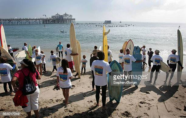protesters wait for their color to be called before joining the circle of protesters off malibu pie
