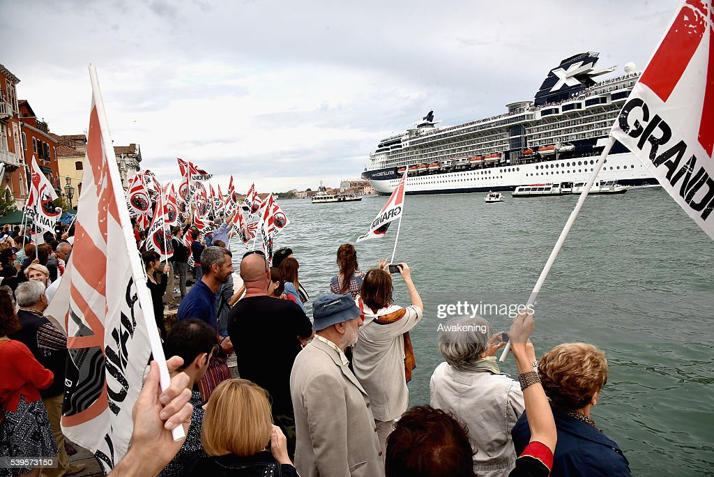 No Big Ship Protest In Venice   Getty Images