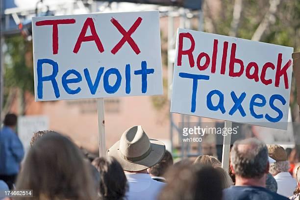 Serie rebelión de 2009, el impuesto