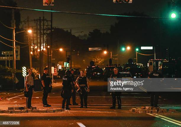 Protests in the Missouri city of Ferguson over the death of an 18yearold black man erupted following the release of the name of the police officer...