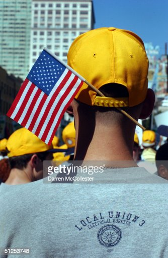 Protests Rally For Causes During RNC Convention : Stock Photo