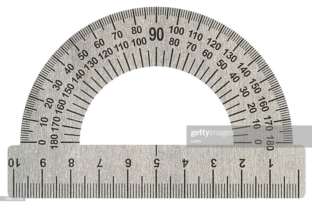 Protractor with path