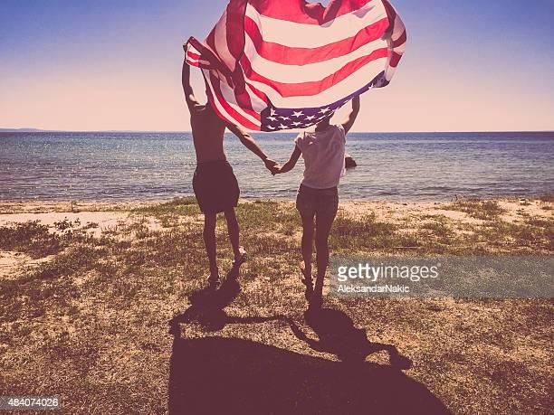 Stolzen Amerikaner