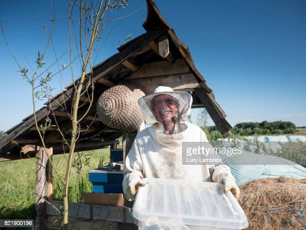 Proud and happy beekeeper
