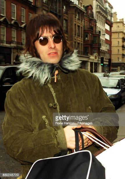 Proud father Liam Gallagher visiting his new son Lennon and wife Patsy Kensit at the private Portland Hospital in central London Patsy Kensit gave...