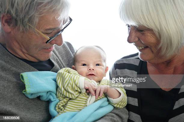 Proud Grandparents with 10 days old Grandson