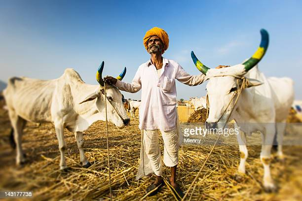 Proud Indian Farmer Portrait