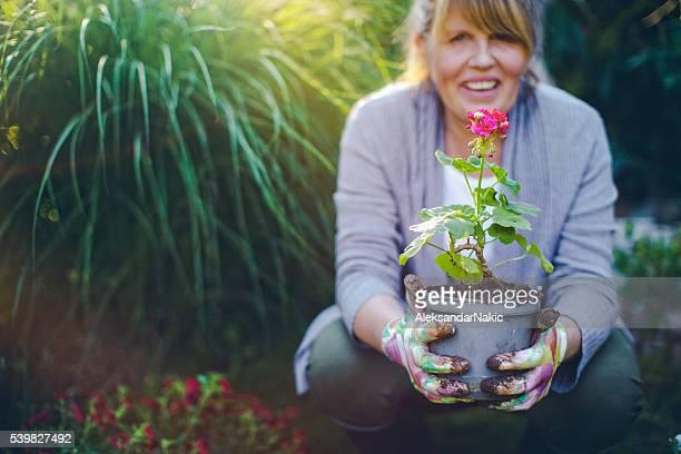 Fier de plantes