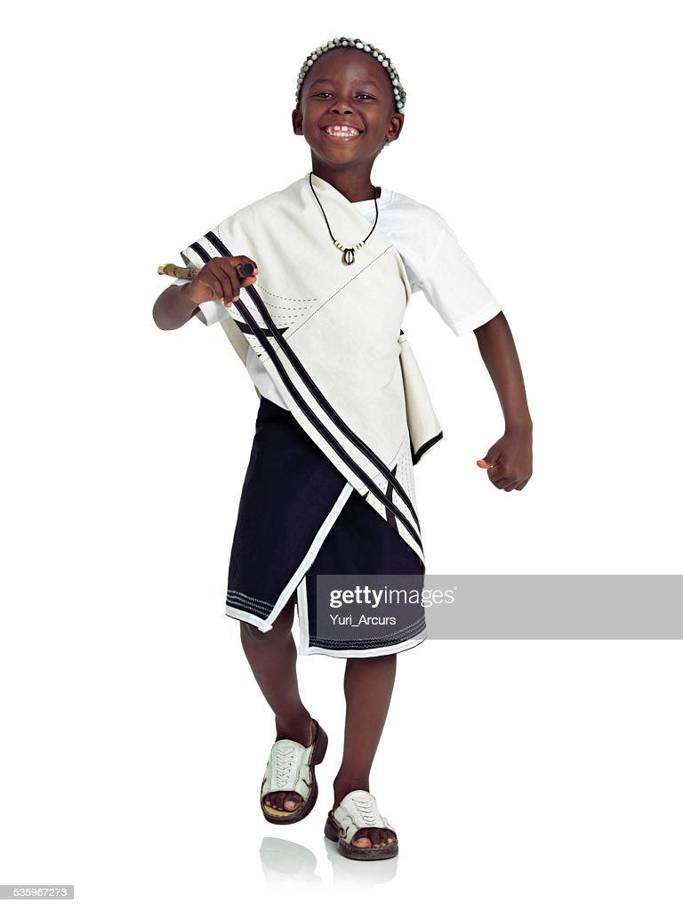 Proud of my traditional heritage : Stock Photo