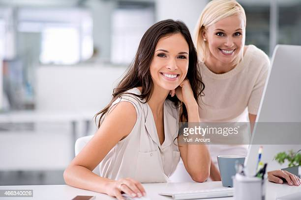 Proud of the work they do together