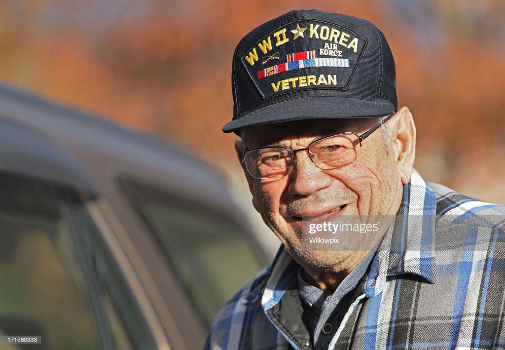 Proud WWII and Korean War Military Veteran