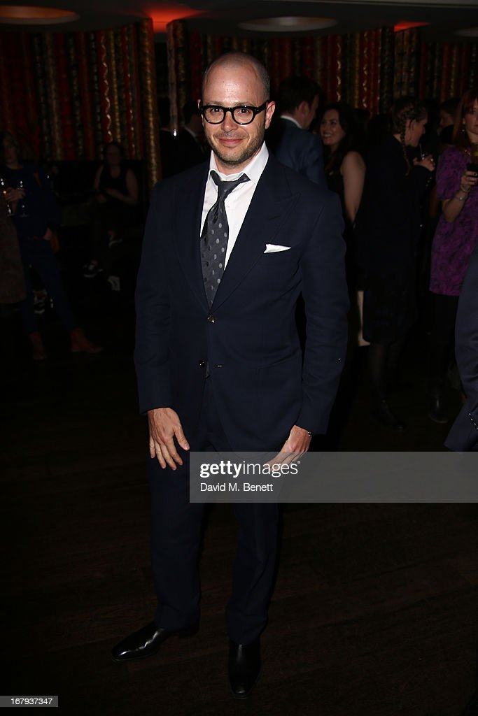 Proudcer <a gi-track='captionPersonalityLinkClicked' href=/galleries/search?phrase=Damon+Lindelof&family=editorial&specificpeople=582642 ng-click='$event.stopPropagation()'>Damon Lindelof</a> attends the UK Premiere - After Party of 'Star Trek Into Darkness' at Aqua on May 2, 2013 in London, England.