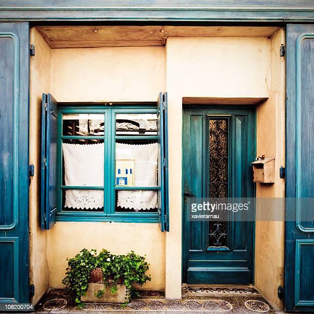 Entrée de maison de Provence