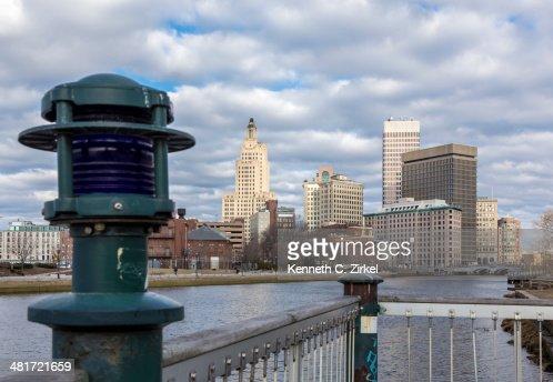 Providence morning : Stock Photo